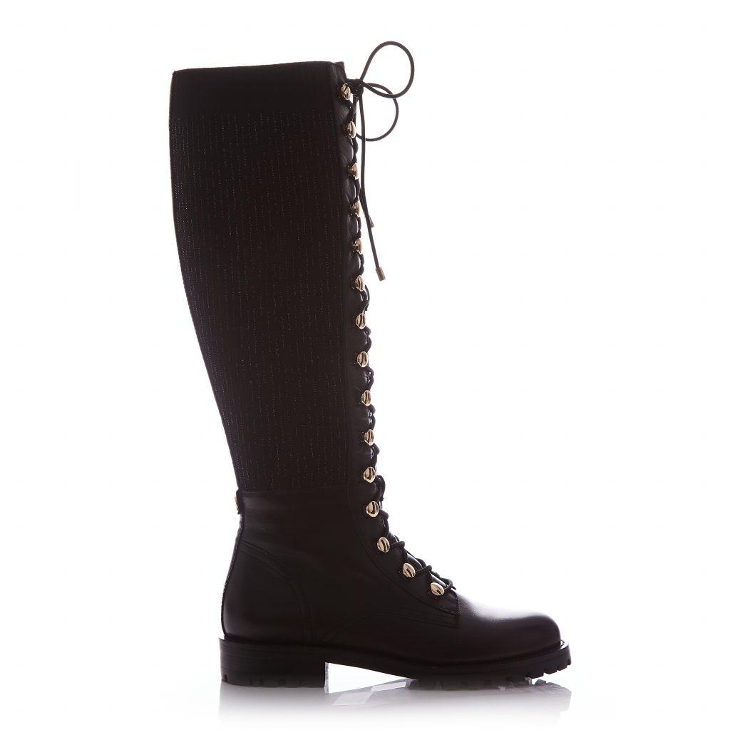 Sanoma Black Leather