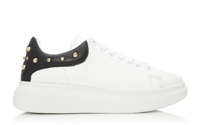 Briton White Leather