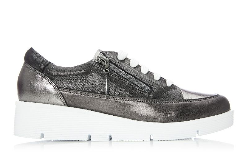 Beena Pewter Leather