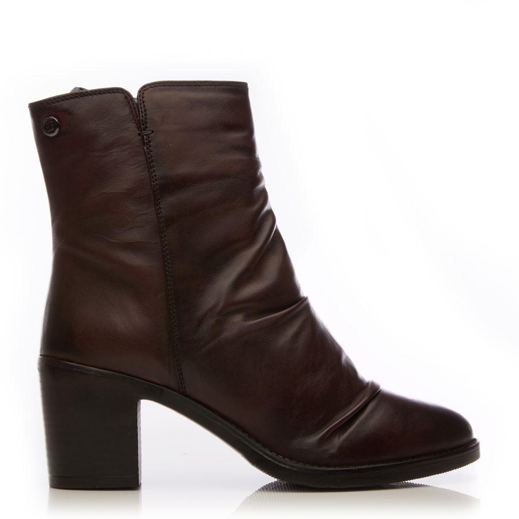 Loula Burgundy Leather