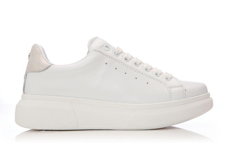 Bridgette White Leather