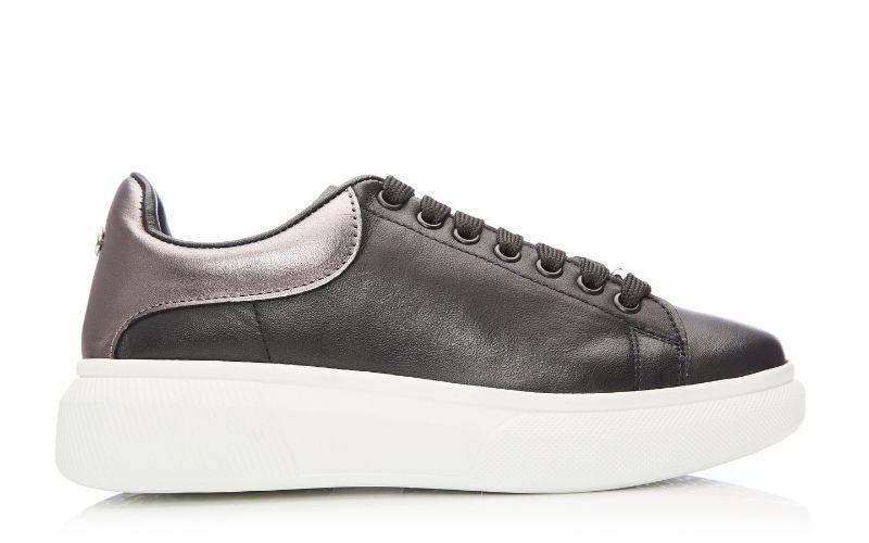 Bradie Black Leather