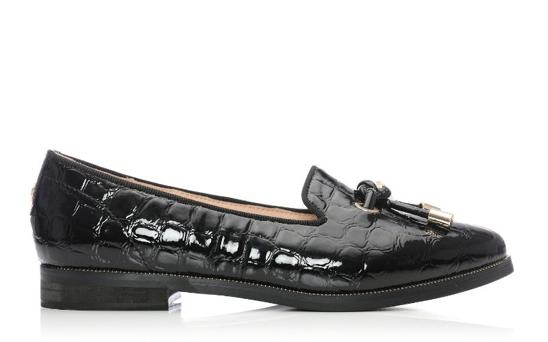 Elissy Black Mocc Croc