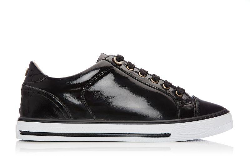 Esitti Black Patent Leather