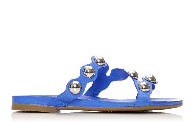 Oriel Cobalt Blue Leather