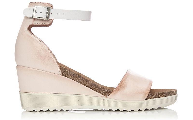 Loraynie Light Pink Leather
