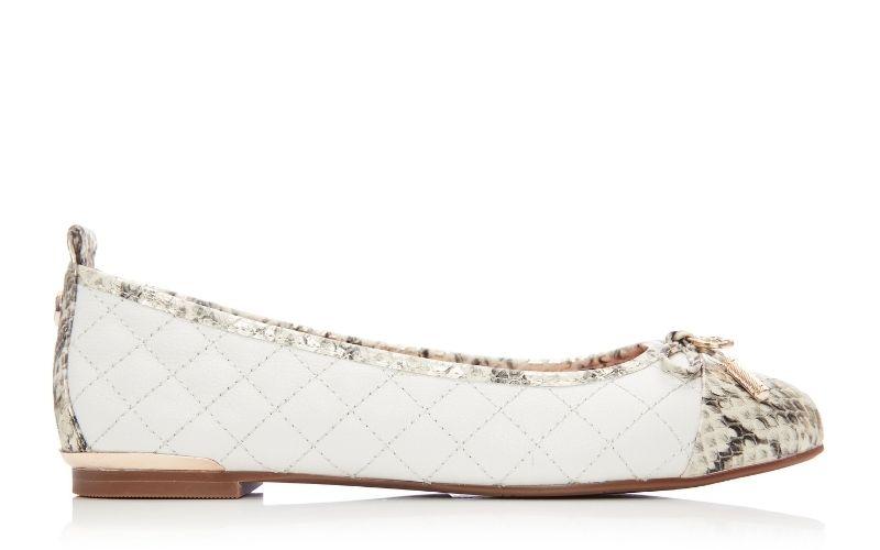 Follo Off White Leather