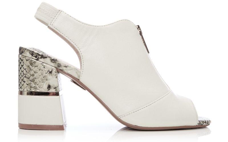 Loelia Off White Leather