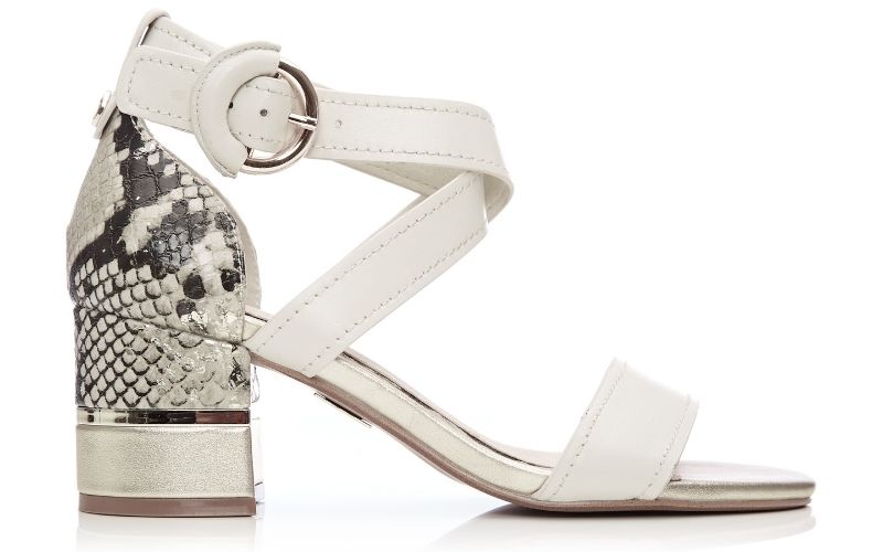 Lovelle Off White Leather