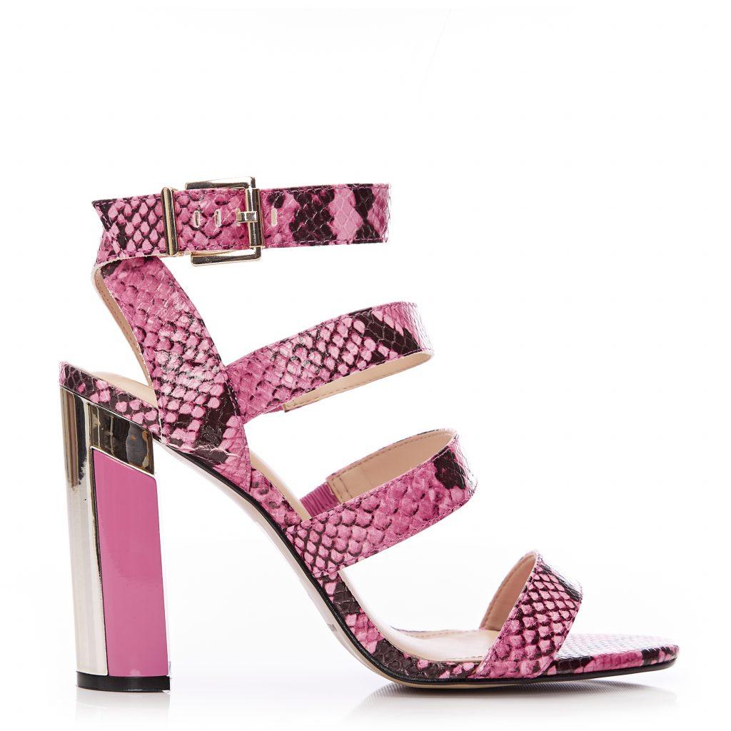 Miresha Pink Snake Print