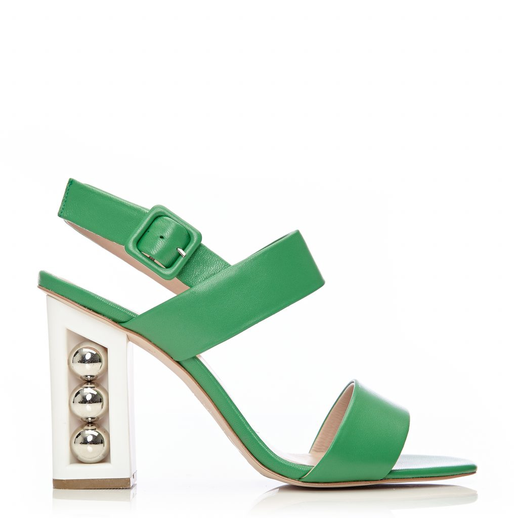 Shore Green Leather