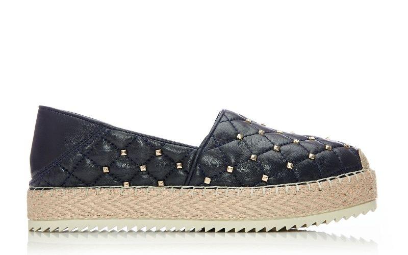 Ditsie Navy Leather