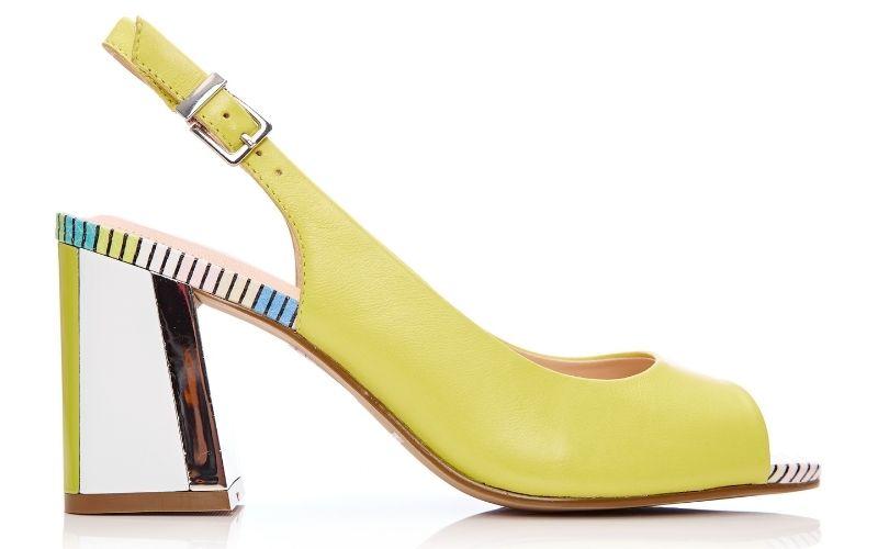 Loelina Yellow Leather