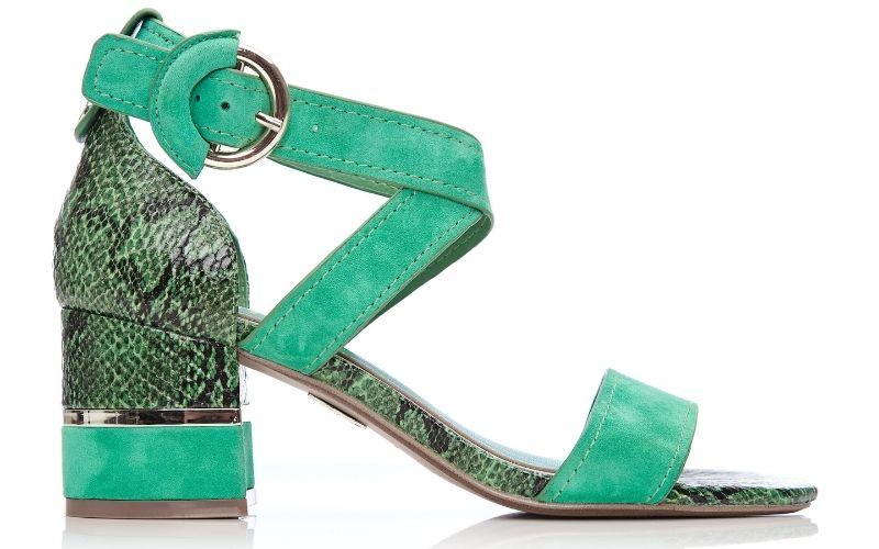 Lovelle Green Suede