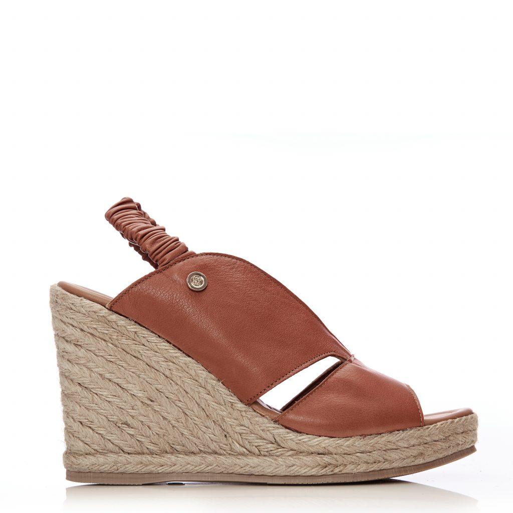 Pammila Tan Leather
