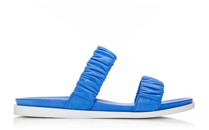 Pirensi Cobalt Blue Leather