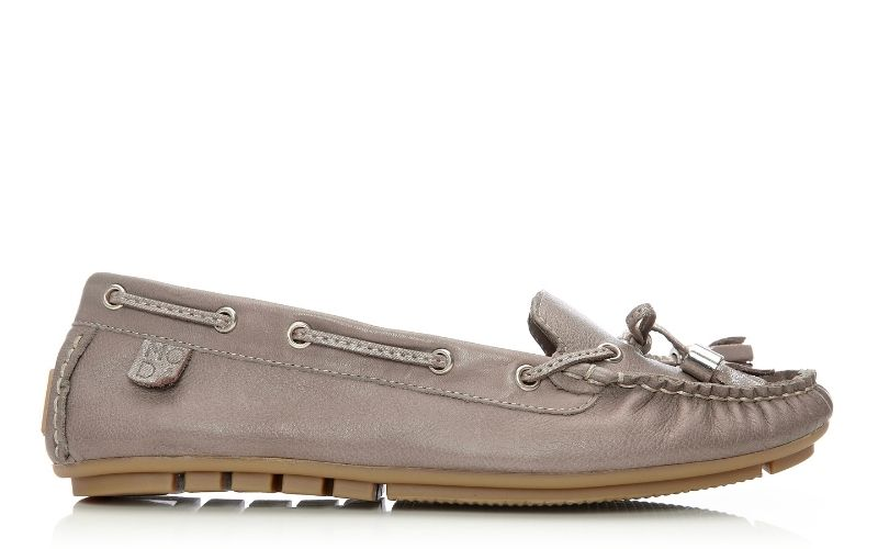 Amusement Taupe Leather