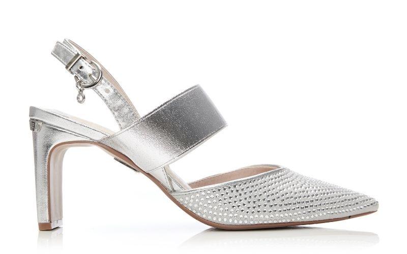 Corella Silver Alcantara