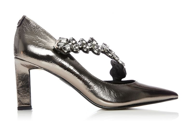 Cillania Pewter Leather