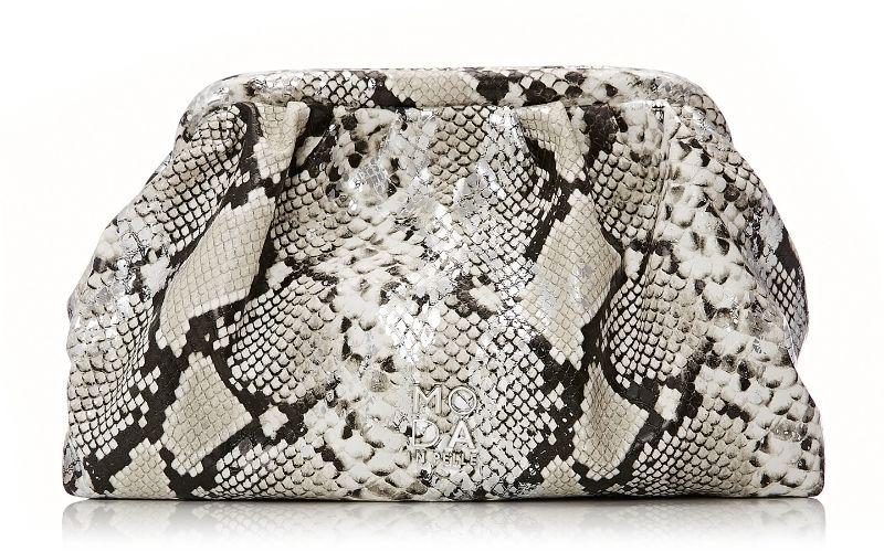 Emiliabag White - Snake Snake Print