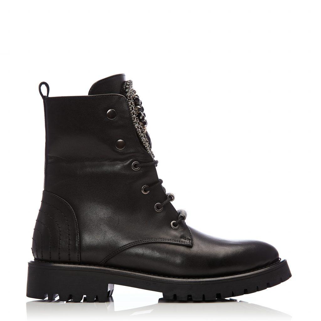 Chantenay Black Leather