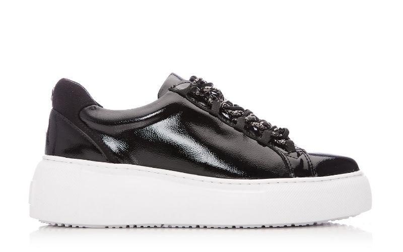 Alski Black Patent Leather