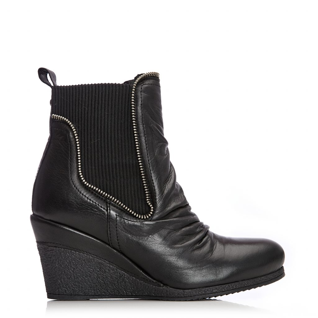 Annamay Black Leather