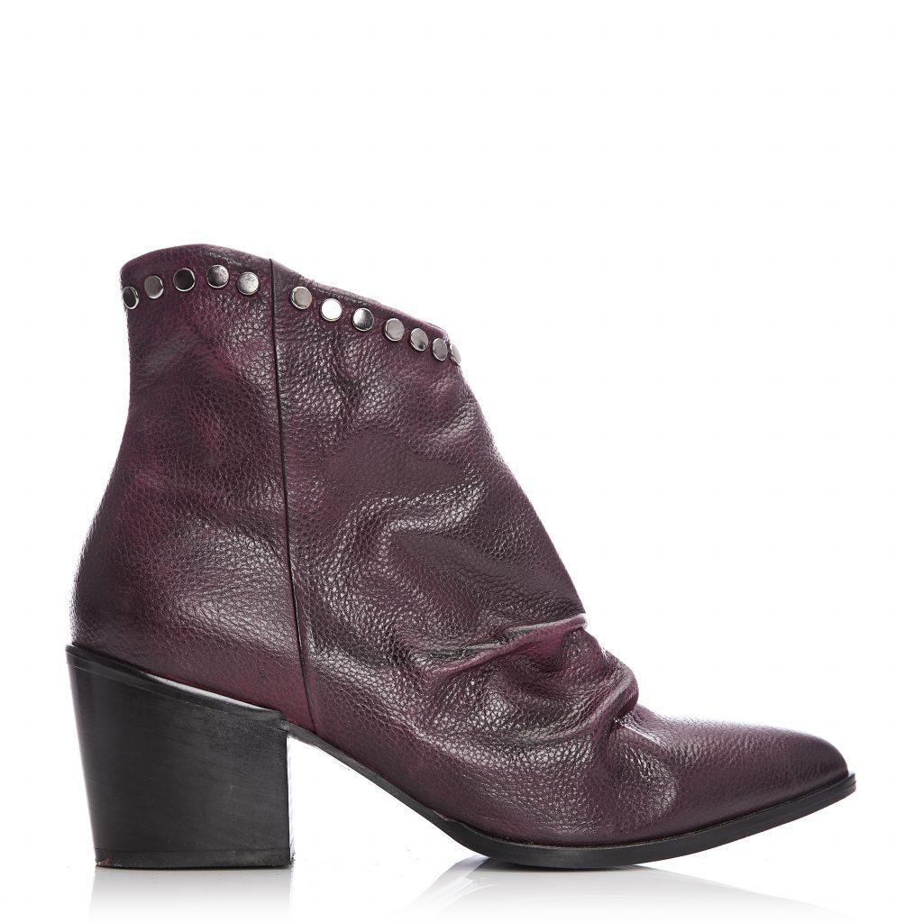 Cammela Burgundy Leather