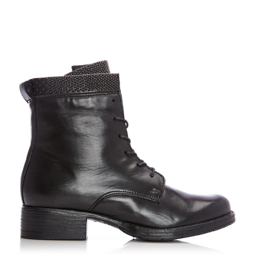 Cazzie Black Leather