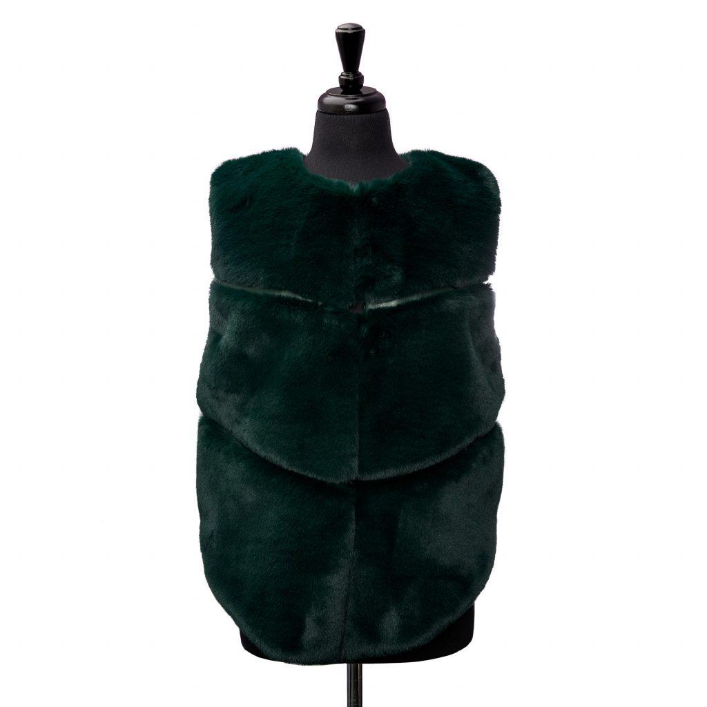Giovannagilet Green Faux Fur