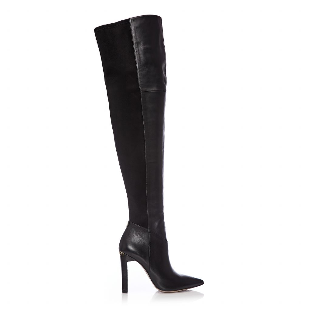 Viramoda Black Leather