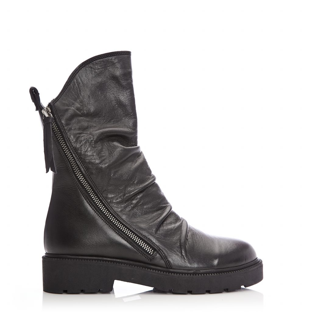 Bencci Black Leather
