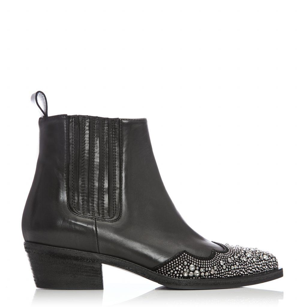 Christina Black Leather