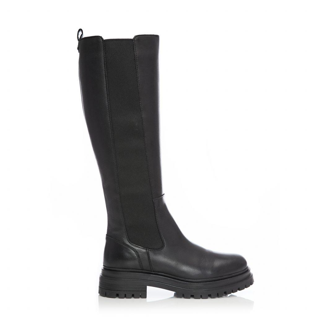 Giia Black Leather