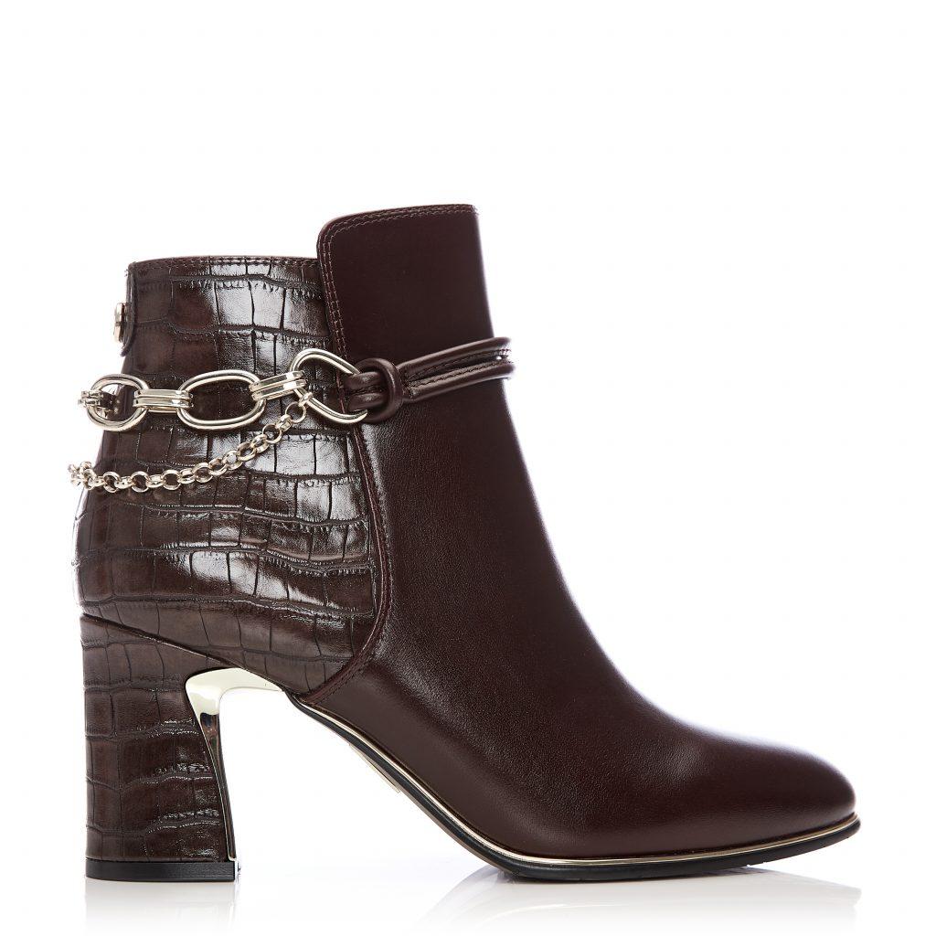 Kannes Dark Brown Leather