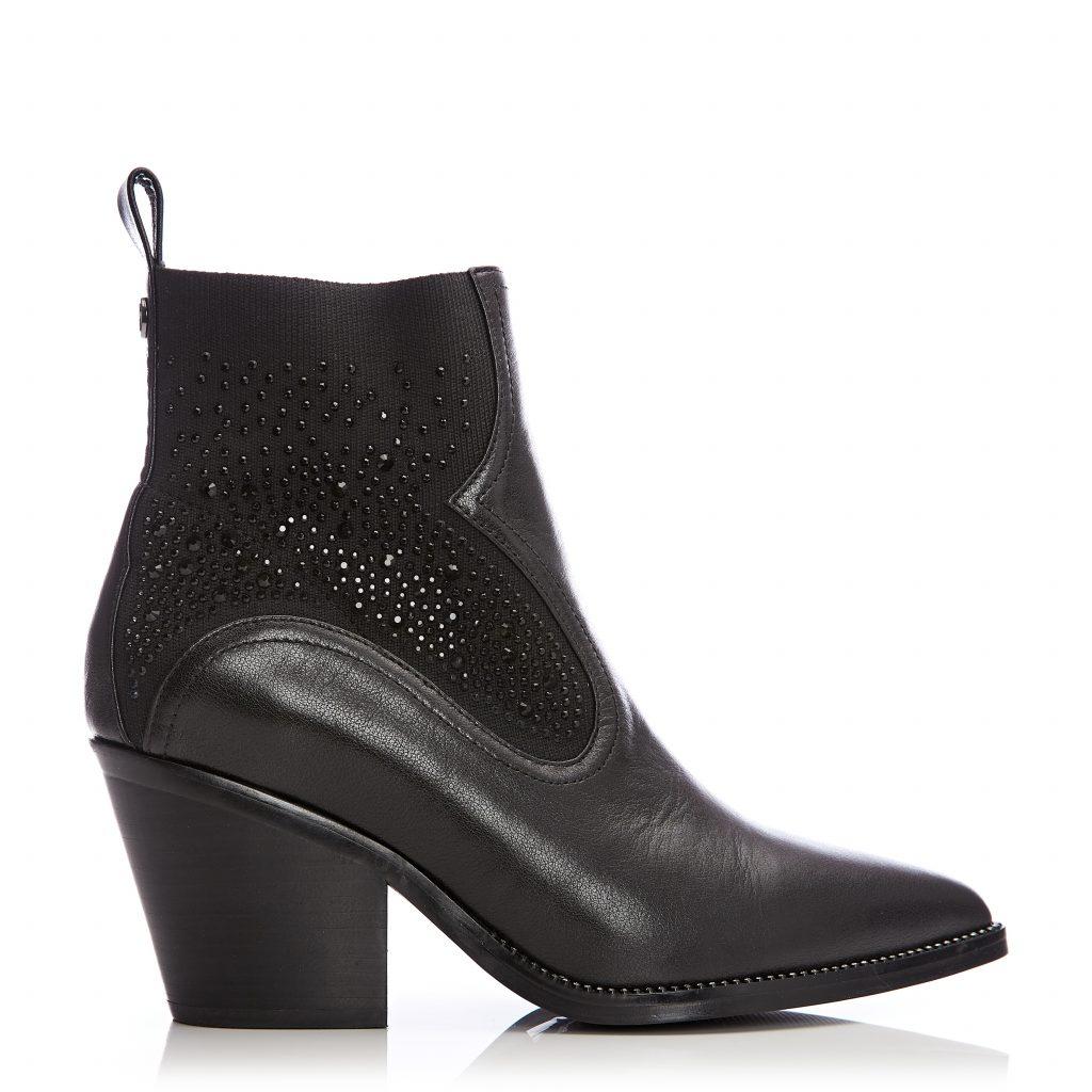 Keeno Black Leather