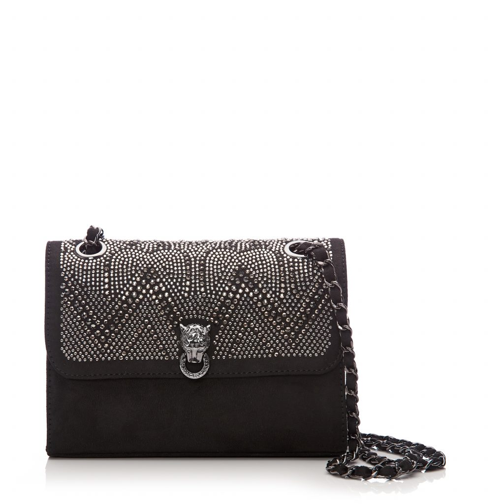 Mini Bag Black Alcantara