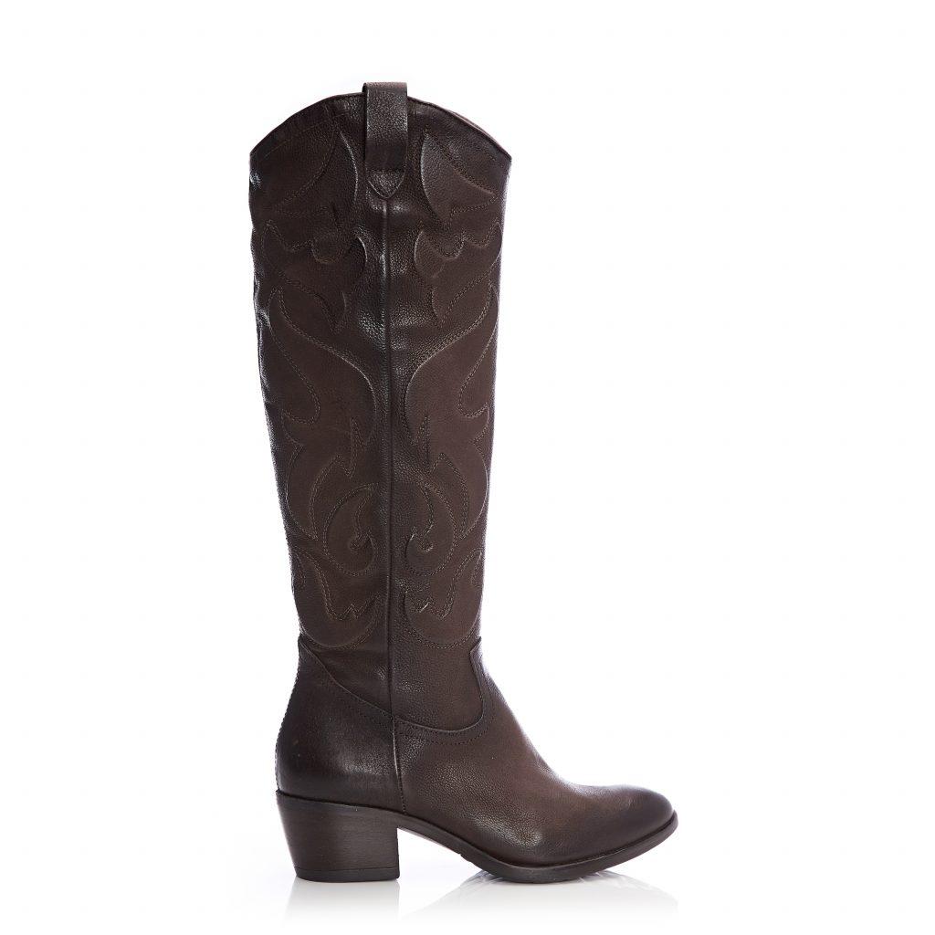 Sereenah Dark Brown Leather