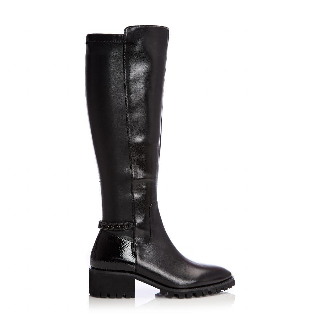 Tabittha Black Leather