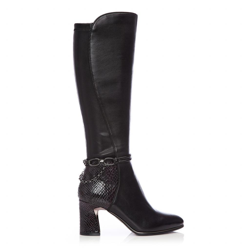 Tallouse Black Leather