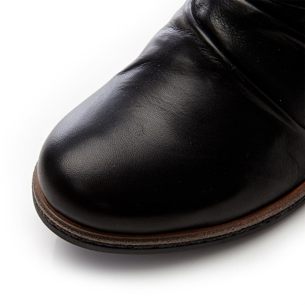 fc48032fd3d3 Adoni Black Leather - Boots from Moda in Pelle UK