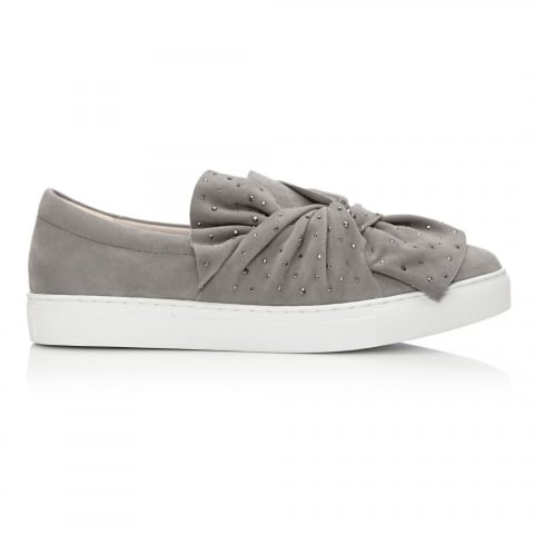 Alandi Light Grey Suede