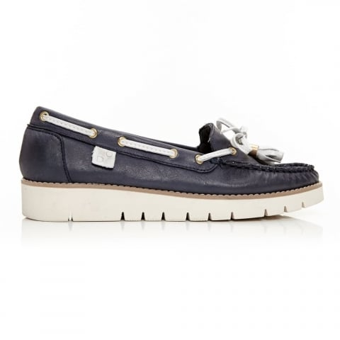 Aledos Navy Leather