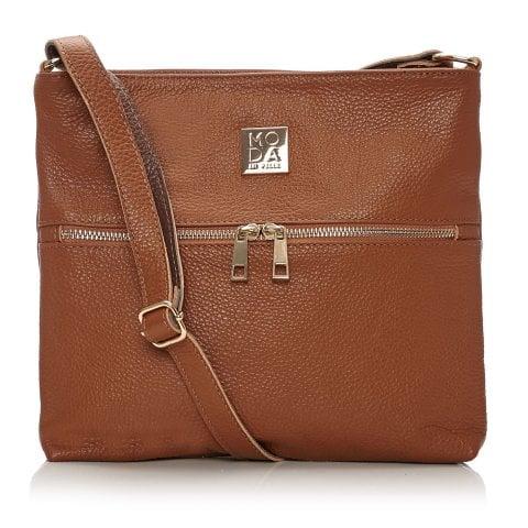 Aleenabag Tan Leather