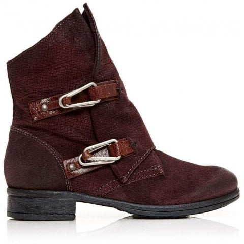 Alera Burgundy Leather