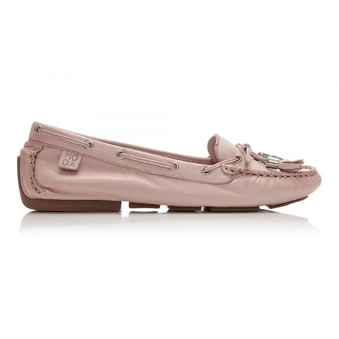 Alidia Light Pink Leather