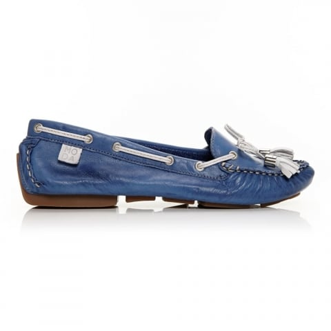 Alivia Blue Leather