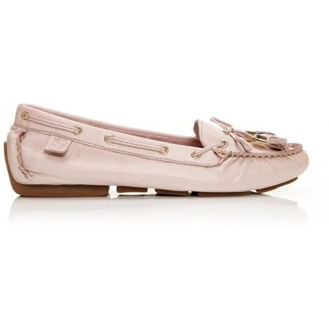 Alivia Light Pink Leather