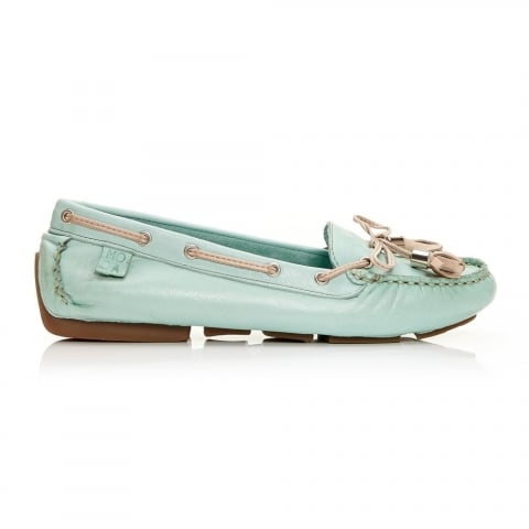 Alivia Mint Leather