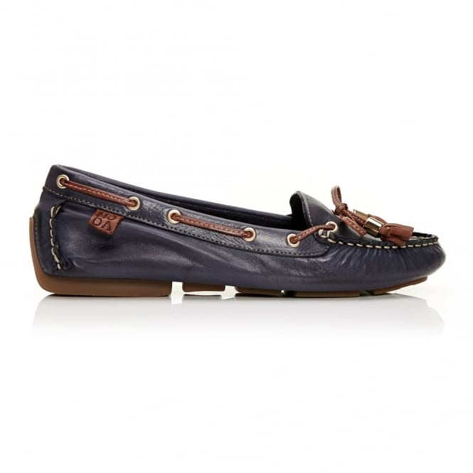 Alivia Navy Leather